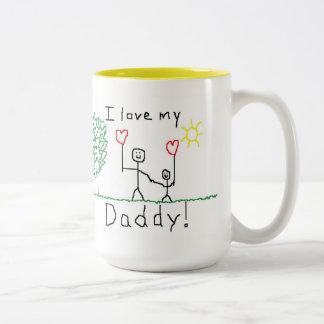J'aime mon papa ! Tasse