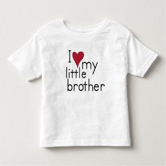 J'aime mon petit frère t-shirt pour les tous petits