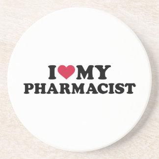 J'aime mon pharmacien dessous de verres