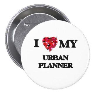 J'aime mon planificateur urbain badge
