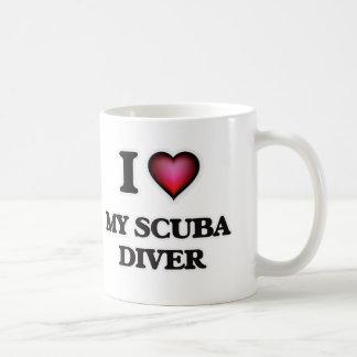 J'aime mon plongeur autonome mug