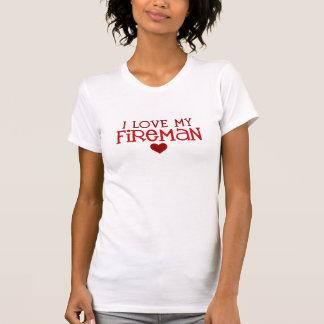 J'aime mon pompier t-shirt