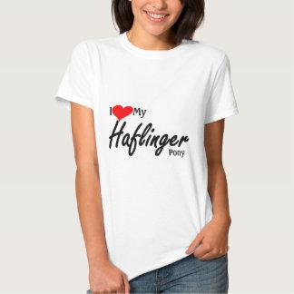 J'aime mon poney de Haflinger T-shirts