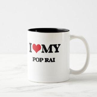 J'aime mon POP RAI Tasses À Café