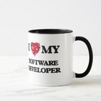 J'aime mon programmateur de logiciel mug
