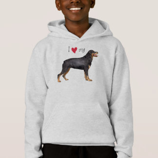 J'aime mon rottweiler