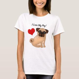 J'aime mon T-shirt de carlin