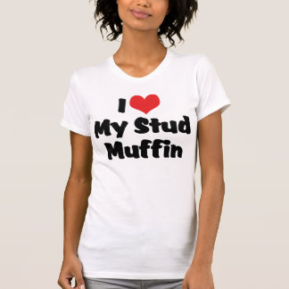 J'aime mon T-shirt de petit pain de goujon
