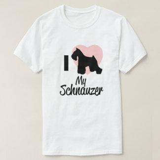 J'aime mon T-shirt de Schnauzer