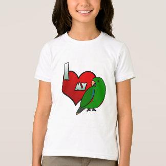 J'aime mon T-shirt d'îles Salomon Eclectus