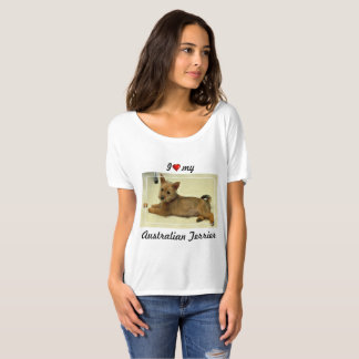 J'aime mon Terrier australien T-shirt