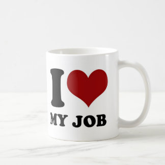 J'aime mon travail - tasse