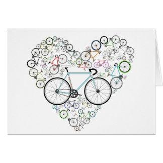 J'aime mon vélo cartes