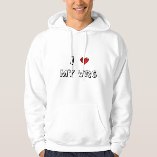 j'aime mon vr6 sweats à capuche