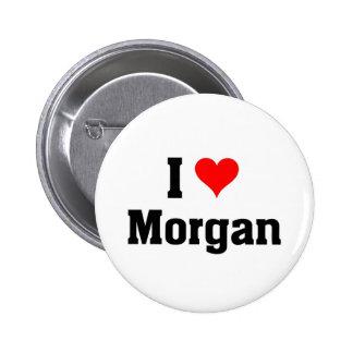 J'aime Morgan Badge Rond 5 Cm