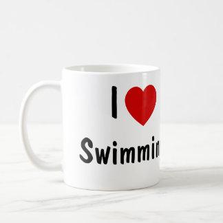 J'aime nager mug