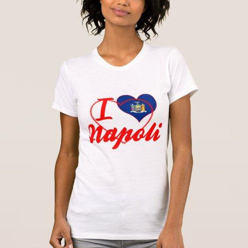 J'aime Napoli, New York T-shirt