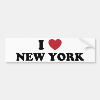 J'aime New York Adhésifs Pour Voiture