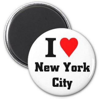 J'aime New York City Magnets