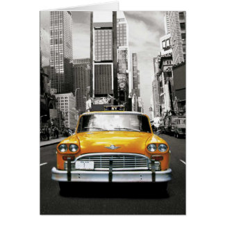 J'aime NYC - taxi de New York Cartes