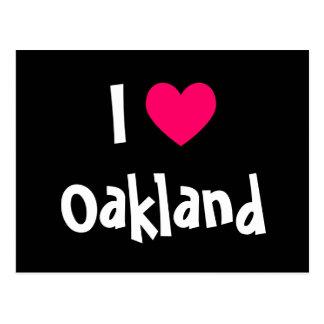 J'aime Oakland Carte Postale