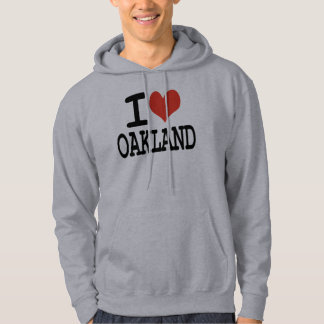 J'aime Oakland Veste À Capuche