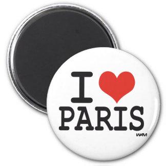 J'aime Paris Aimants Pour Réfrigérateur