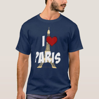 """J'aime Paris,"" Tour Eiffel T-shirt"