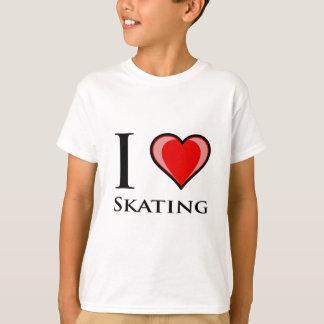 J'aime patiner t-shirt