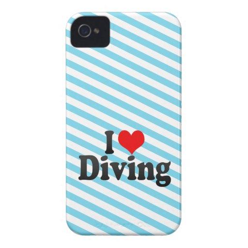 J'aime plonger coque Case-Mate iPhone 4