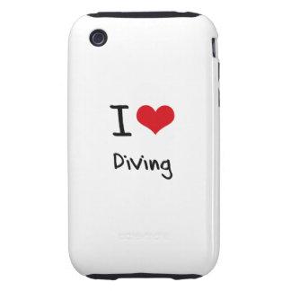 J'aime plonger étui iPhone 3 tough