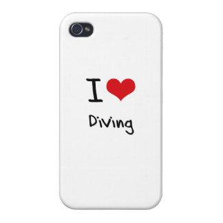 J'aime plonger coques iPhone 4