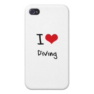 J'aime plonger coque iPhone 4/4S