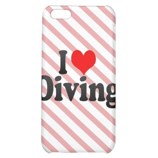 J'aime plonger étuis iPhone 5C