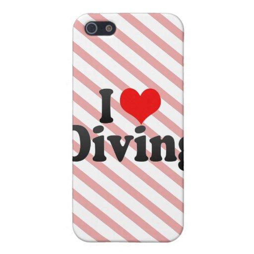 J'aime plonger iPhone 5 case