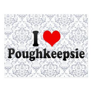 J'aime Poughkeepsie, Etats-Unis Carte Postale