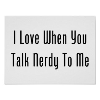 J'aime quand vous me parlez ringard posters