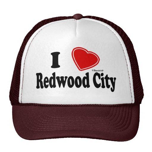 J'aime Redwood City Casquette