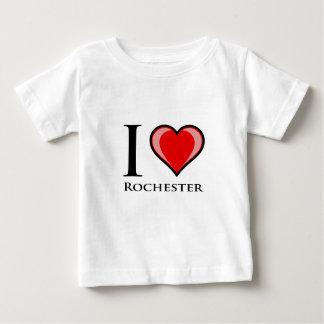 J'aime Rochester T-shirt Pour Bébé