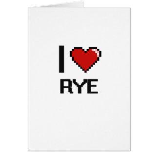 J'aime Rye Cartes