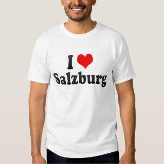 J'aime Salzbourg, Autriche T-shirts