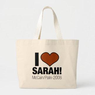 J'AIME SARAH PALIN GRAND SAC