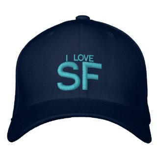 J'AIME SF - casquette personnalisable par Casquette Brodée