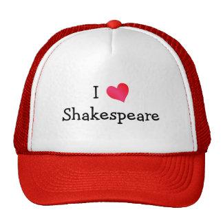 J'aime Shakespeare Casquette De Camionneur