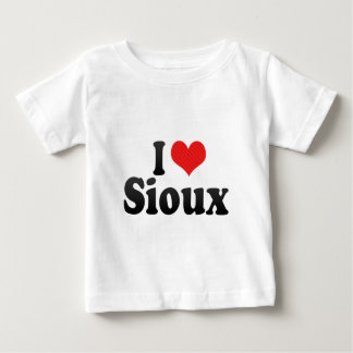 J'aime Sioux T-shirt Pour Bébé