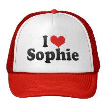 J'aime Sophie Casquettes