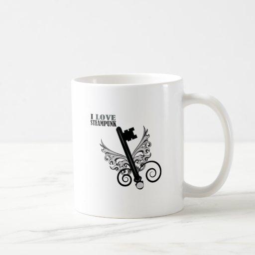 J'aime Steampunk Mug À Café
