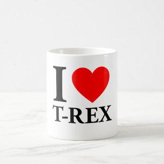 J'aime T - Rex Mug Blanc