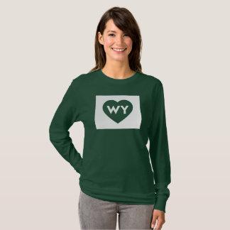 J'aime T-shirt de la douille des femmes d'état du