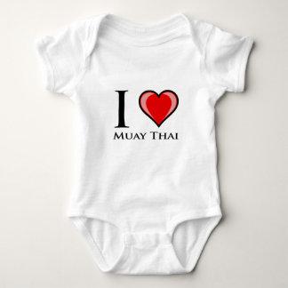 J'aime thaïlandais de Muay Body